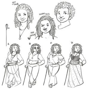 Character Design - Florence Briar