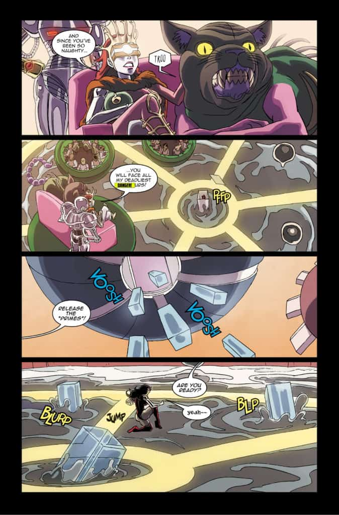 Danger Doll Squad Galactic Gladiators #3 Page 11
