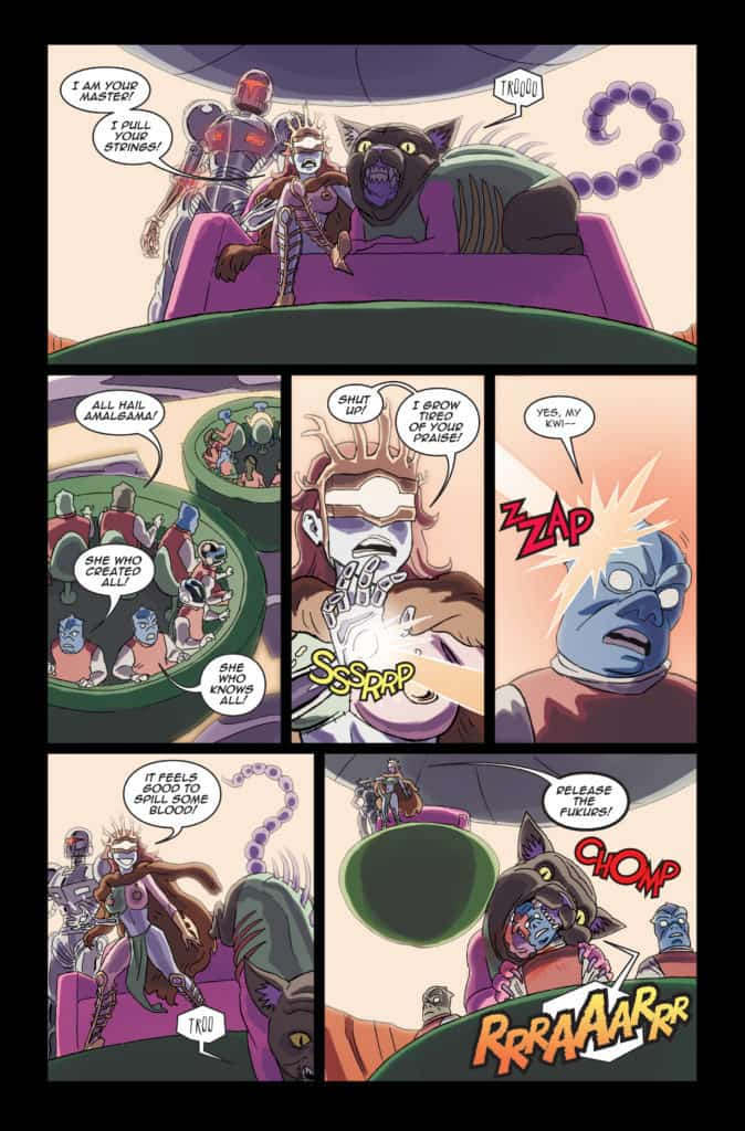 Danger Doll Squad Galactic Gladiators #3 Page 13