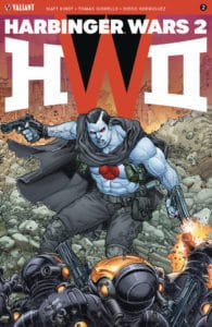 HARBINGER WARS 2 #2 (of 4) – Interlocking Variant by Juan Jose Ryp