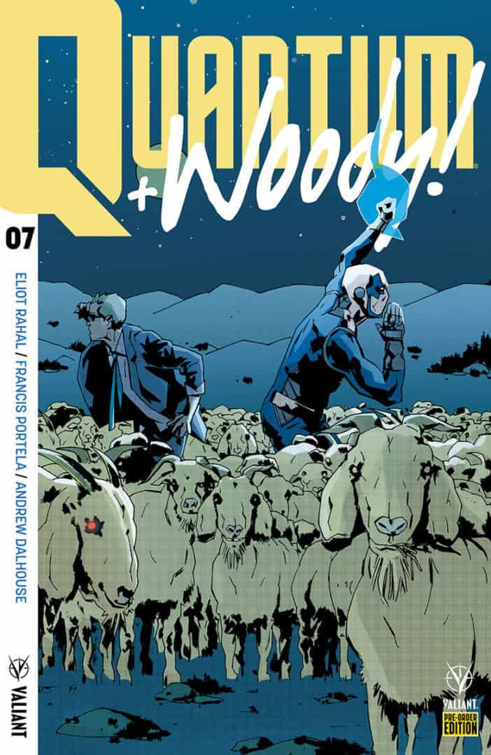 Quantum and Woody! #7 - Pre-Order Edition by ANTONIO FUSO