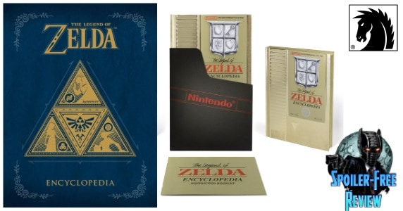 The Legend of Zelda Encyclopedia review feature