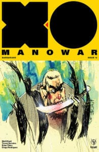 X-O Manowar #16 - Cover B by Jim Mahfood