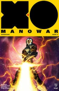 X-O Manowar #16 - X-O Manowar Icon Variant by Philip Tan