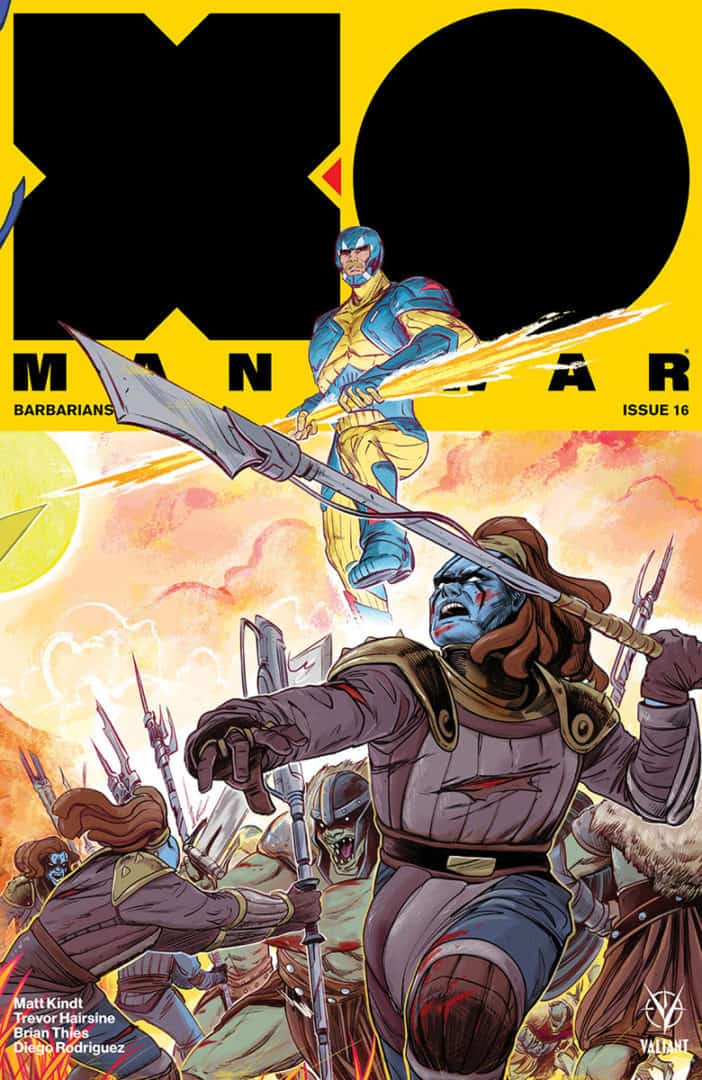 X-O Manowar #16 – Interlocking Variant by Veronica Fish