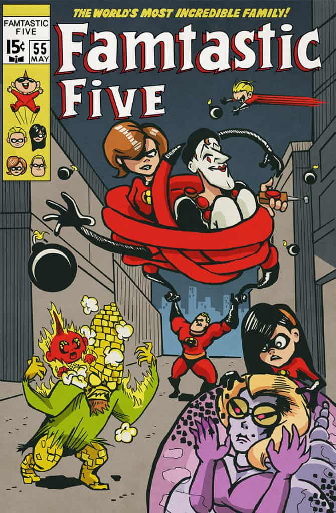 incredibles-famtastic-five