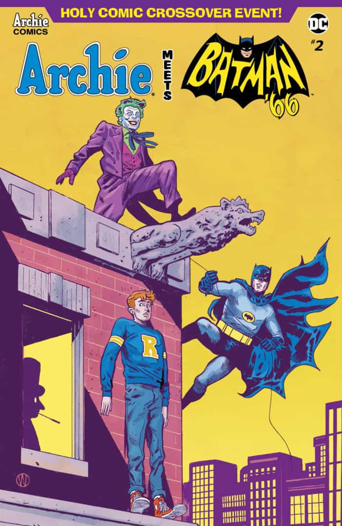 ARCHIE MEETS BATMAN '66 #2 – Variant Cover by Michael Walsh