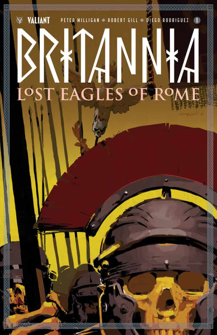 BRITANNIA: LOST EAGLES OF ROME #1 – Cover A by Cary Nord