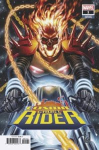 COSMIC GHOST RIDER #1 - Variant Cover by Mark Brooks