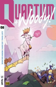 QUANTUM AND WOODY! (2017) #8 – Pre-Order Edition by Rob Guillory