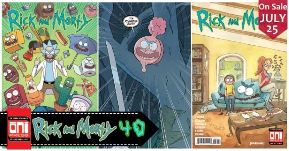 Rick and Morty #40 feature