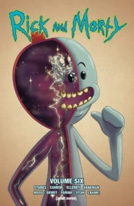 Rick and Morty Volume 6 variant