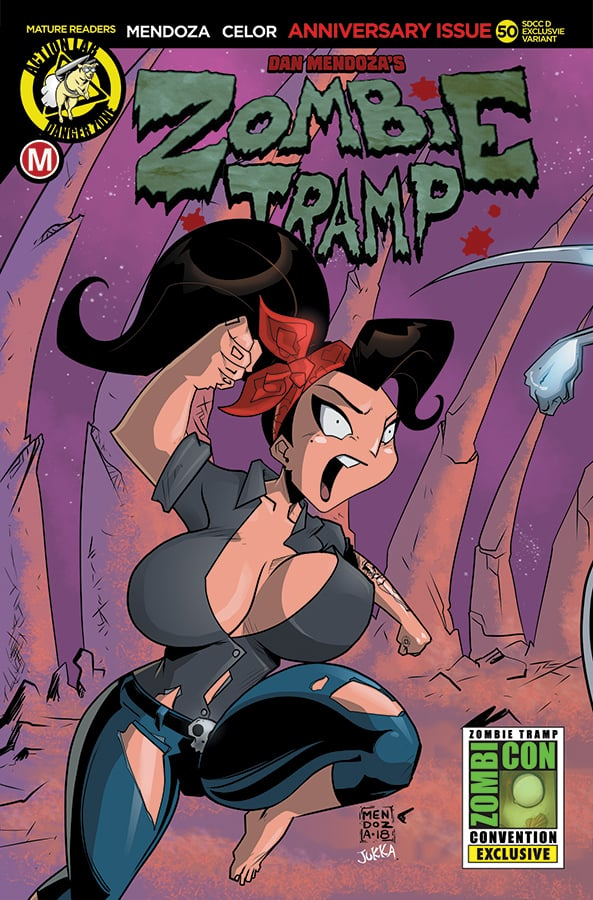 Zombie Tramp #50 SDCC 2018 Exclusive Cover D Dan Mendoza