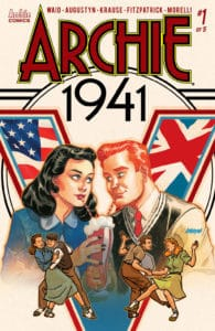 Archie 1941 #1 - Variant Cover by Dave Johnson