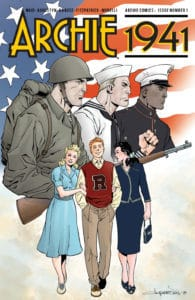 Archie 1941 #1 - Variant Cover by Aaron Lopresti