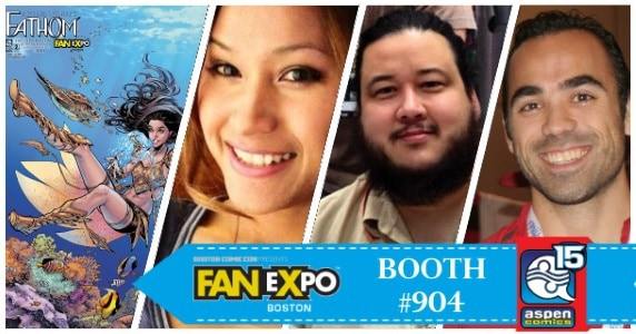 Aspen Comics at Fan Expo Boston
