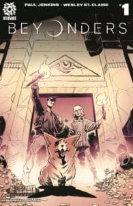 Beyonders #1 - Cover A by Wesley St. Claire