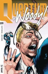Quantum and Woody! #9 - Cover B by Geoff Shaw