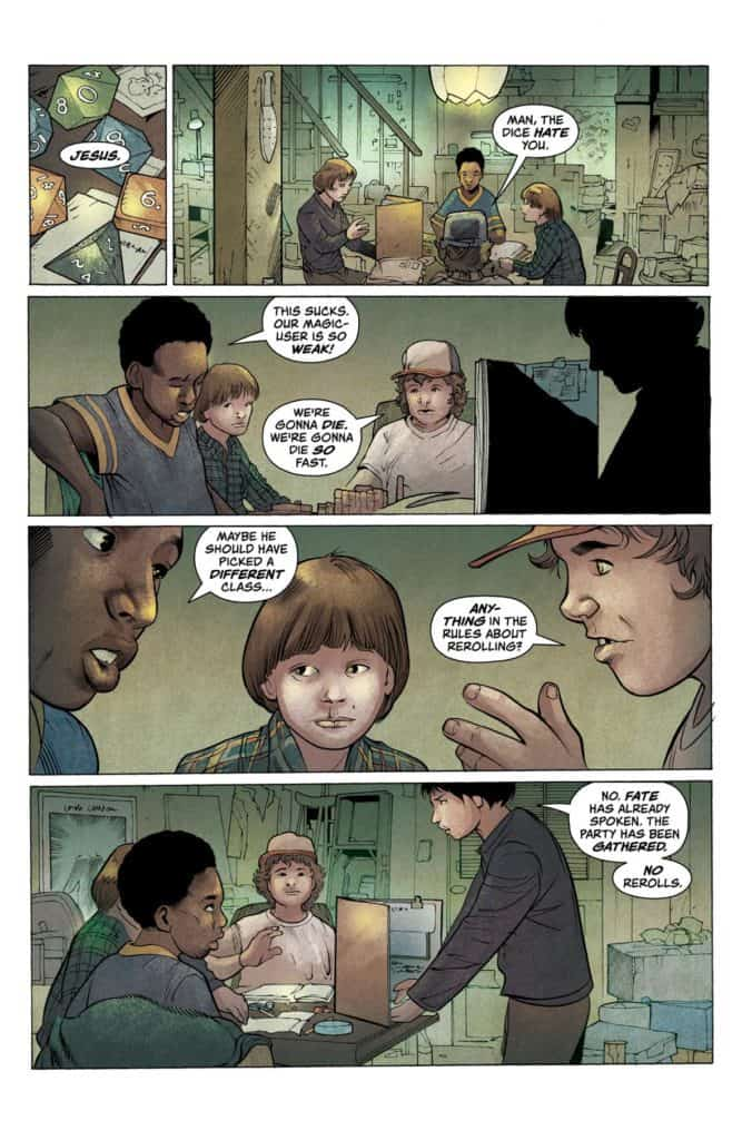 Stranger Things #1 - preview page 8