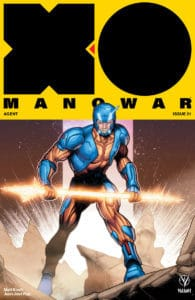 X-O MANOWAR (2017) #21 - Cover C by Jim Towe