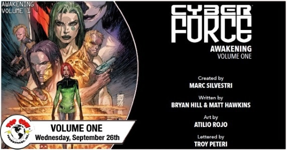 Cyber Force Vol. 1 TPB preview feature