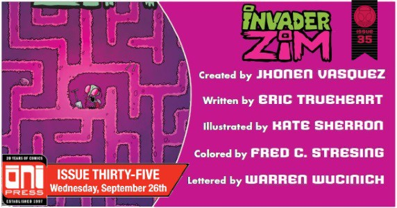 Invader ZIM #35 preview feature