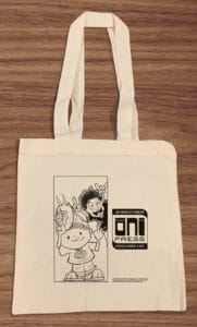 Oni Press tote bag