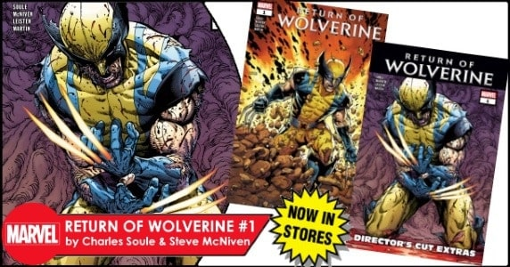 Return of Wolverine #1 feature