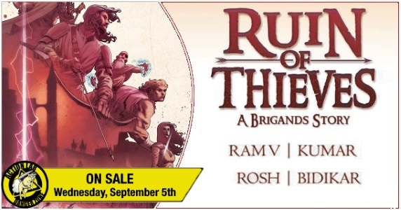 Ruin of Thieves – A Brigands Story TPB preview feature