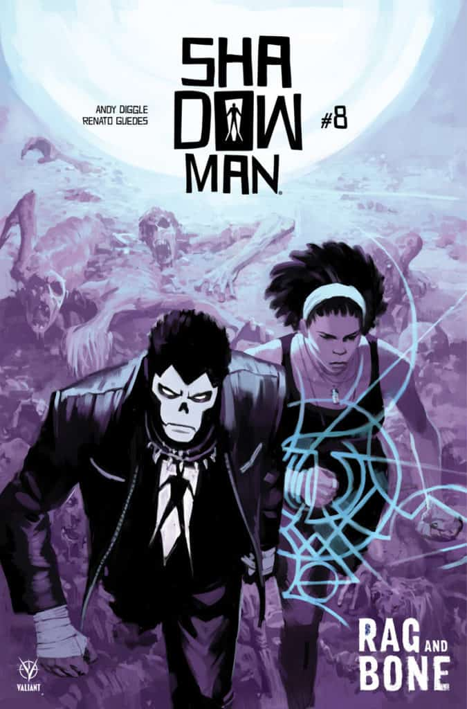 SHADOWMAN (2018) #8 – Cover A by Tonci Zonjic