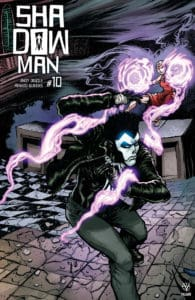 SHADOWMAN (2018) #10 - Interlocking Variant by Ryan Lee