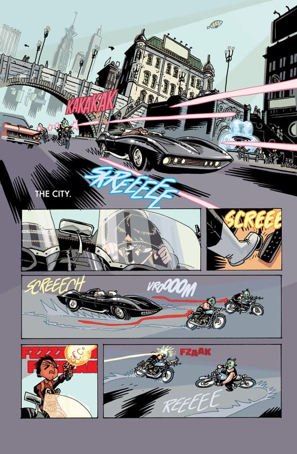 The Umbrella Academy: Hotel Oblivion #1 preview page 1