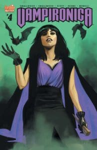 Vampironica #4 - Variant Cover by Fiona Staples