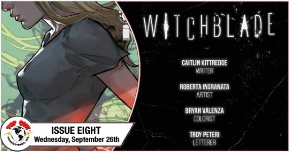 Witchblade #8 preview feature