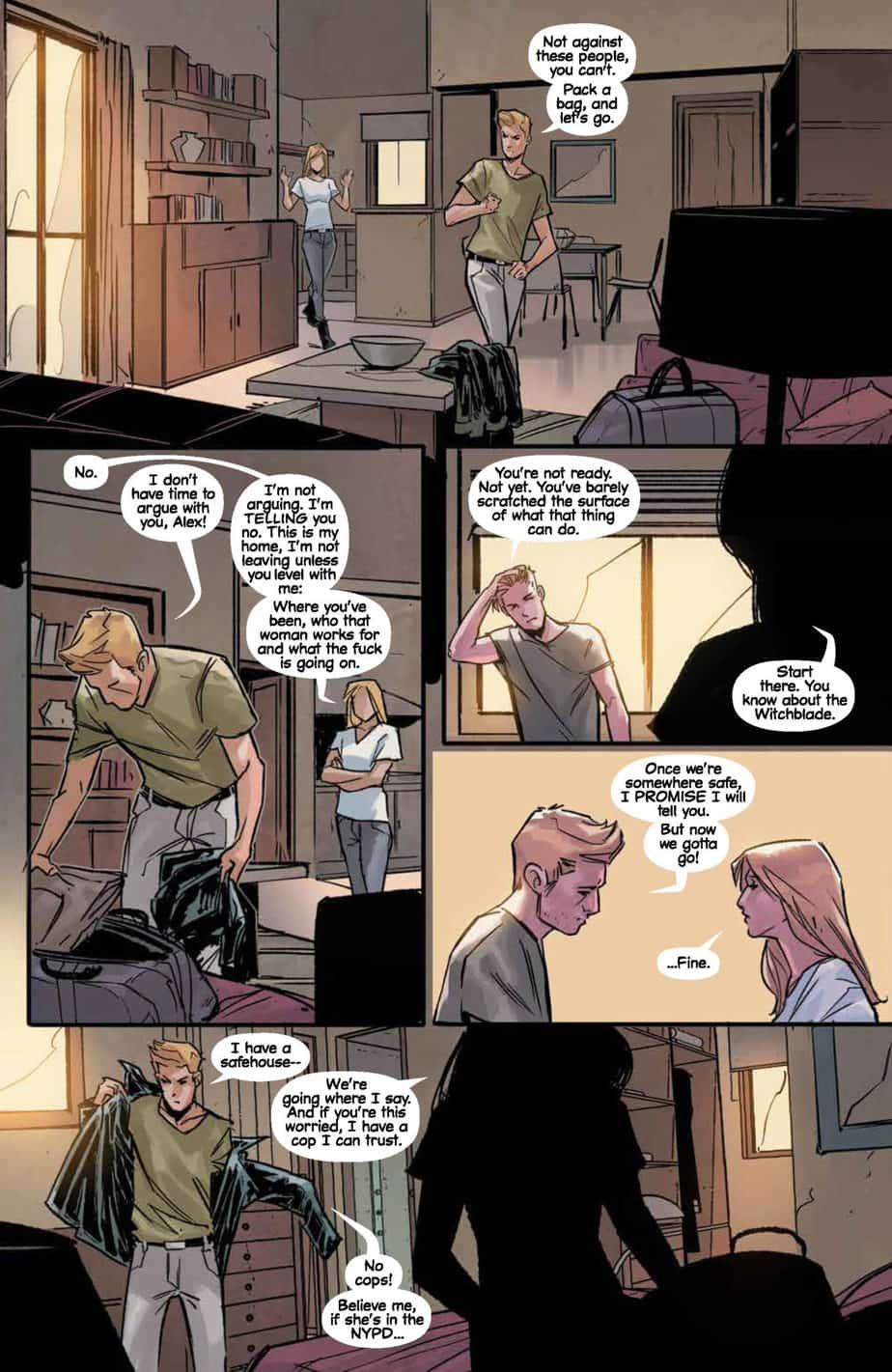 Witchblade #8 preview page 2
