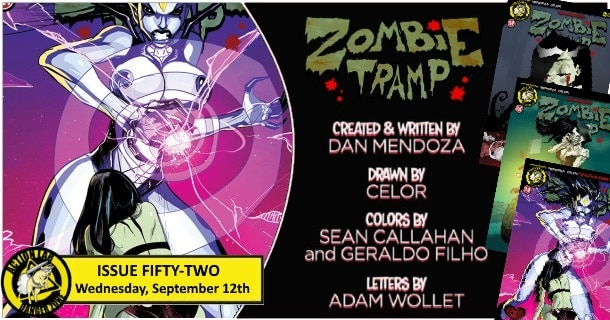 Zombie Tramp #52 preview feature