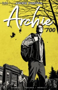 Archie #700 - Variant Cover by Matthew Dow Smith