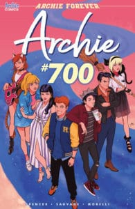 Archie #700 - Variant Cover by Audrey Mok