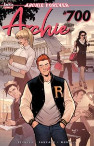 Archie #700 - Variant Cover by Paul Renaud