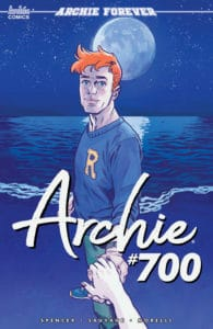 Archie #700 - Variant Cover by Michael Walsh
