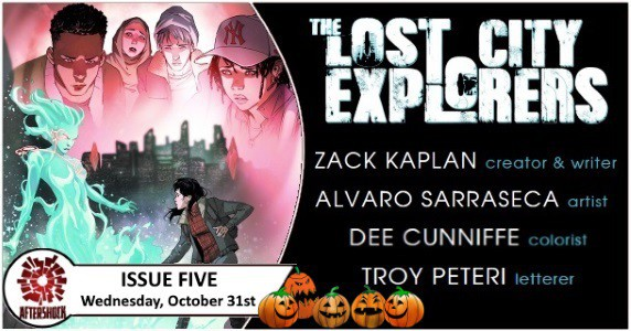 Lost City Explorers #5 preview feature