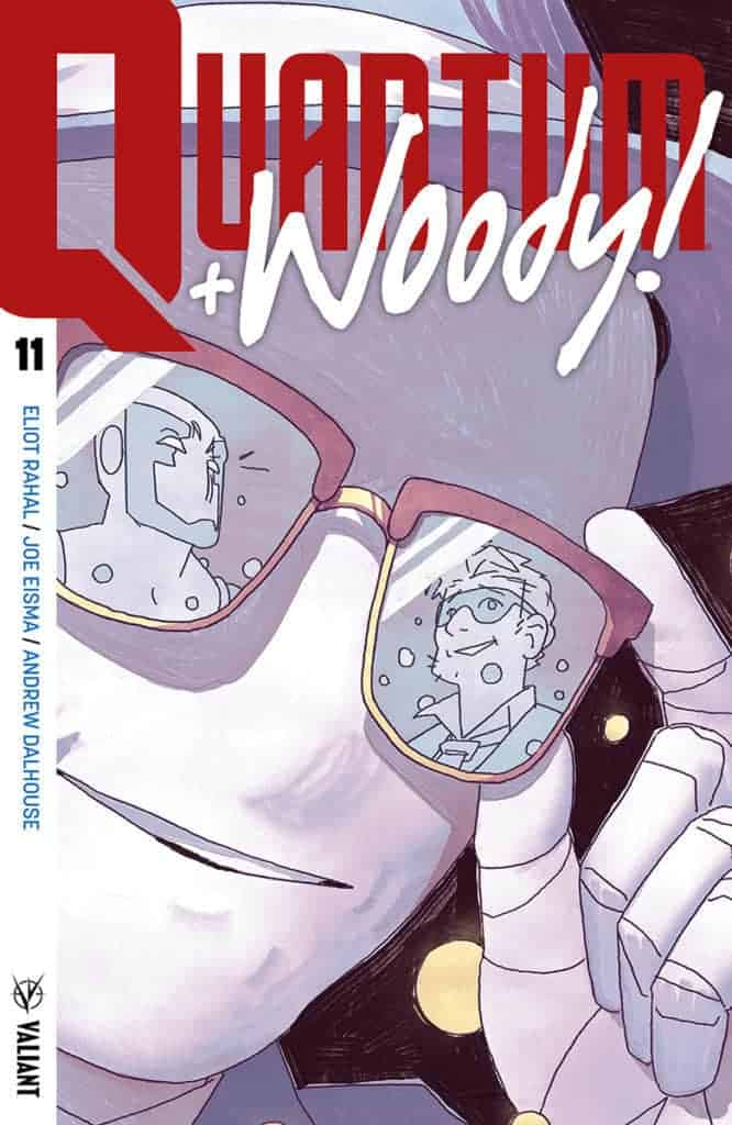 Quantum & Woody! #11 - Cover A by Kyle Smart