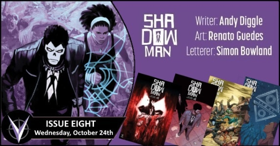 Shadowman #8 preview feature