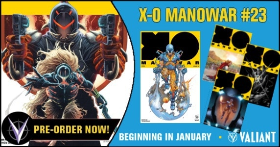 X-O Manowar #23 preview feature