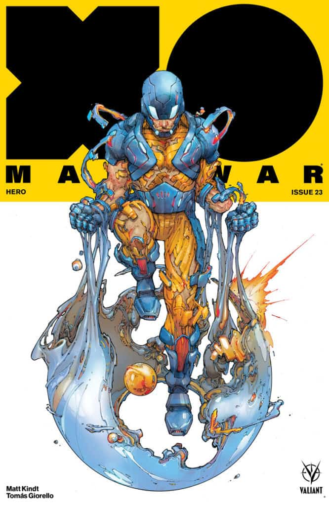 X-O Manowar #23 - Cover A by Kenneth Rocafort