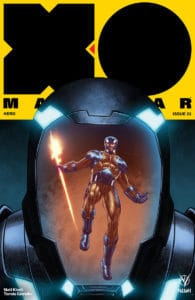 X-O Manowar #23 - Cover B by Diego Yapur