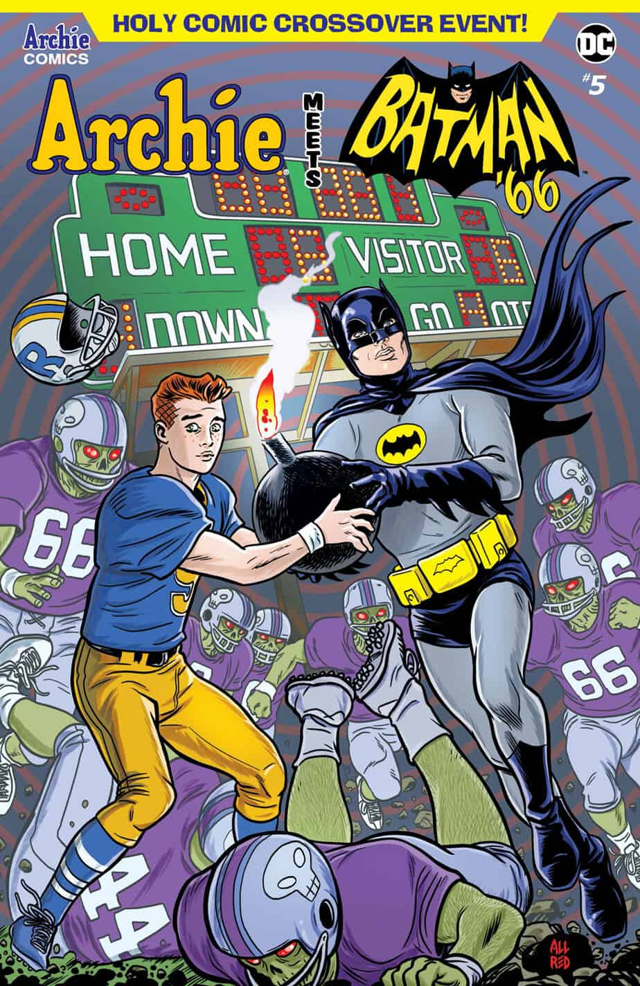 Archie Meets Batman '66 – Main Cover by Michael Allred & Laura Allred
