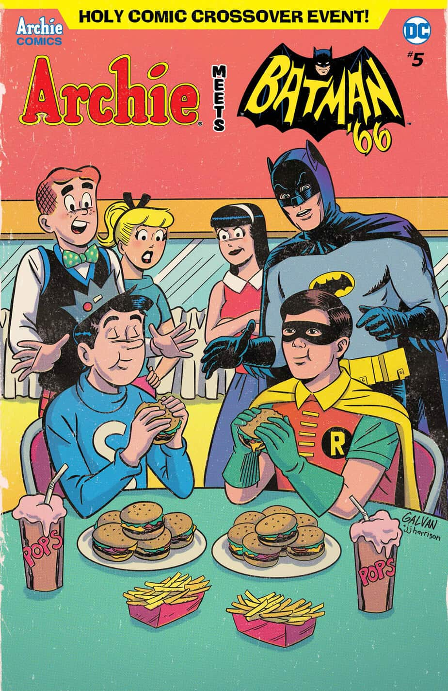 Archie Meets Batman '66 – Variant Cover by Bill Galvan