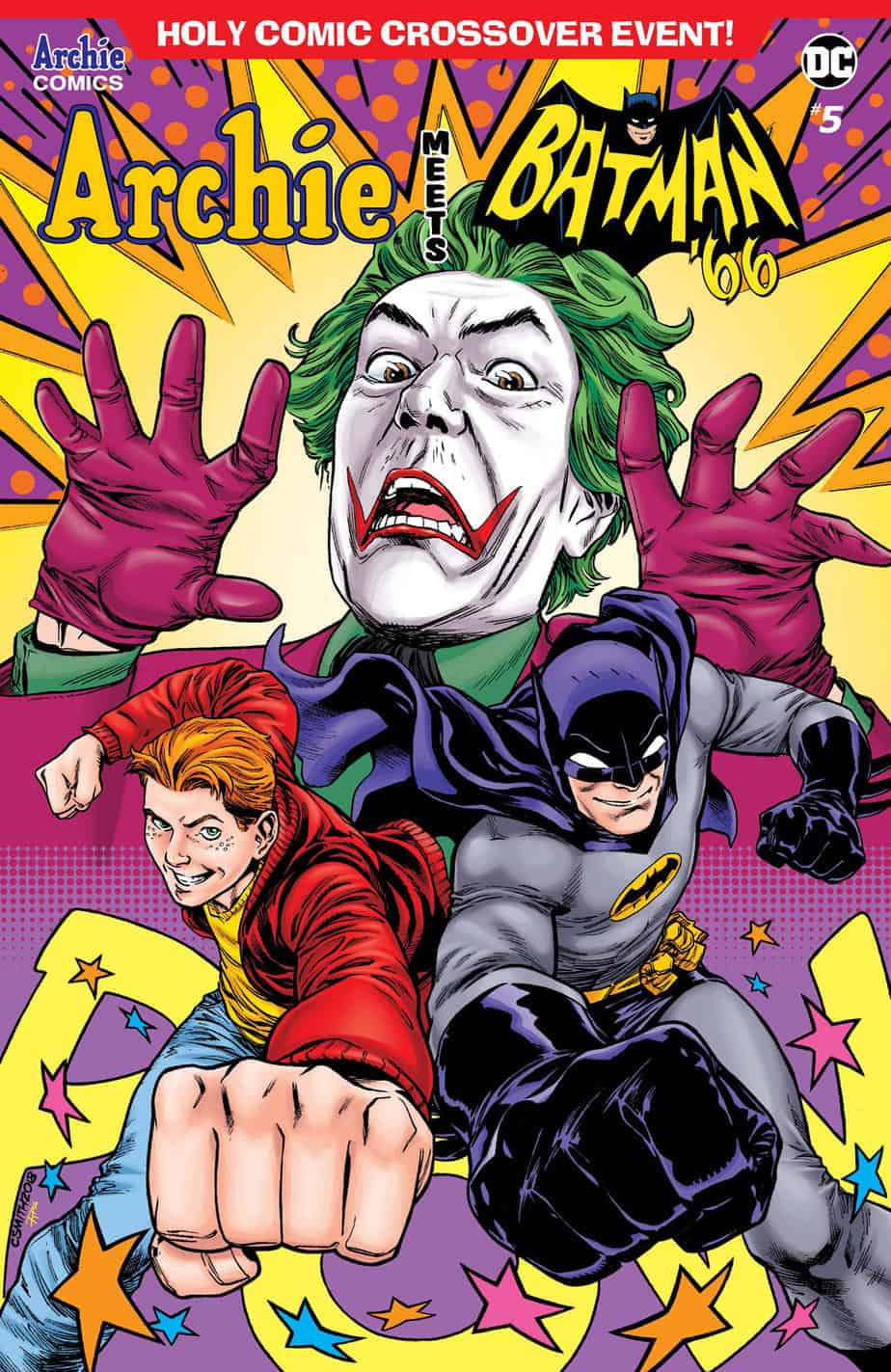 Archie Meets Batman '66 – Variant Cover by Cory Smith