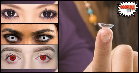 Cosplay 101 - Contact Lenses